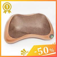 Массажная подушка для спины и шеи Massage pillow. Массажер автомобильный. Авто-массажер. Массажер-подушка.