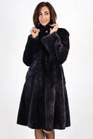 Пальто из норки Малтарини махагон