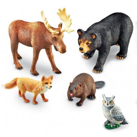 """Набор больших животных """"Лесные жители"""" Learning Resources"""