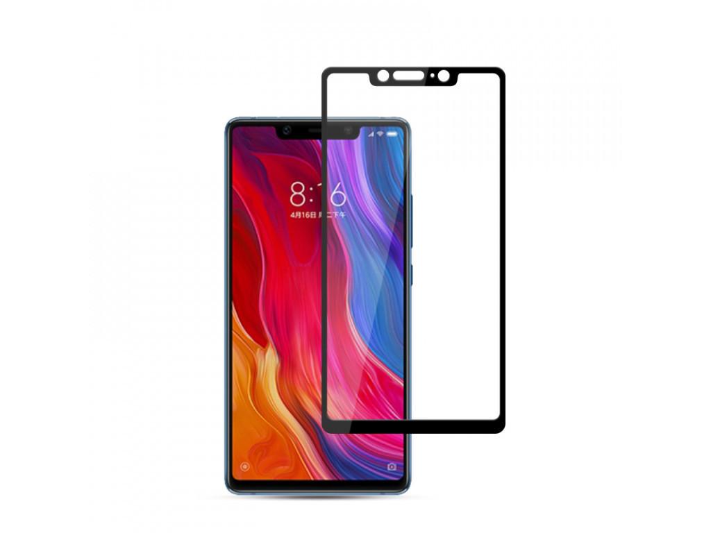 Захисне скло для Xiaomi Mi 8 SE / Mi 7 (Чорний)
