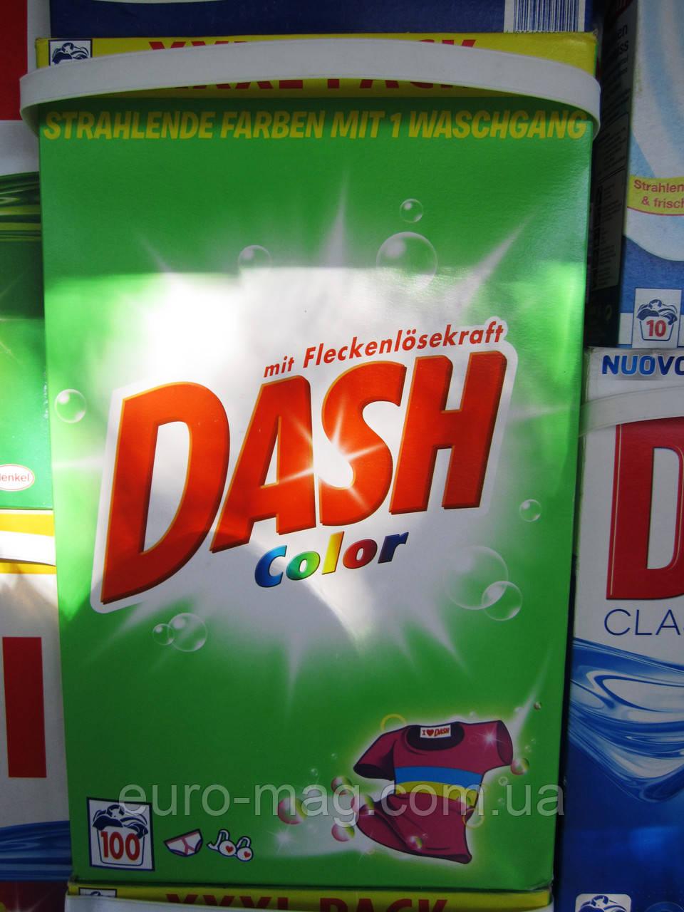 Стиральный порошок Dash color mit Fleckenlosekraft 100 стирок (6,5 кг)