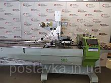 Флоупак горизонтальна пакувальна лінія CB-350S з технологією смарт-серво