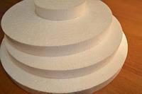 Основа под торт круглая пенопласт., фото 1