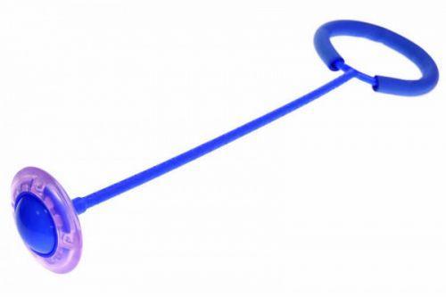 Скакалка на ногу, синий  sco