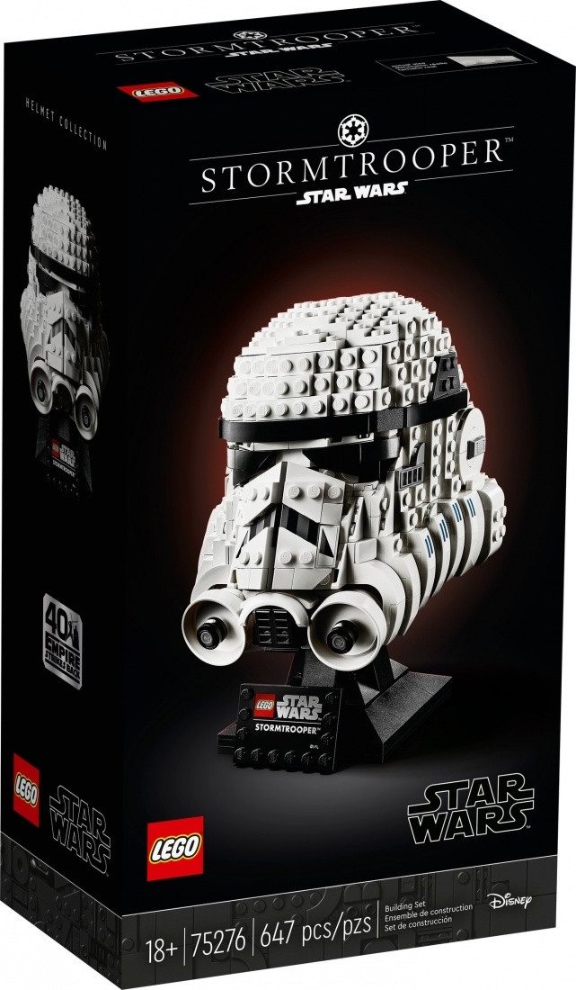 Lego Star Wars Шлем штурмовика Лего Стар Варс 75276