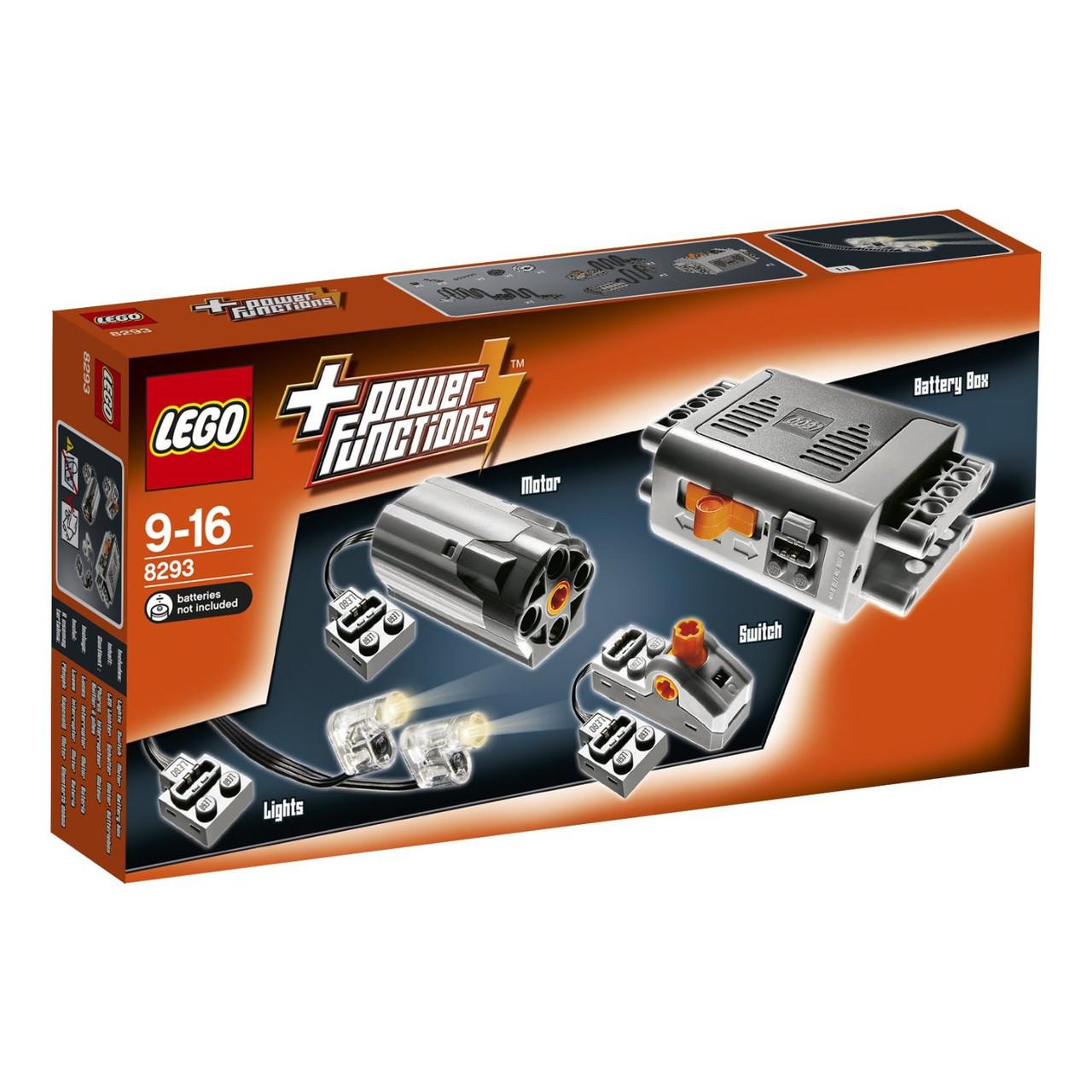 Lego Technic Набор с мотором Power Functions 8293