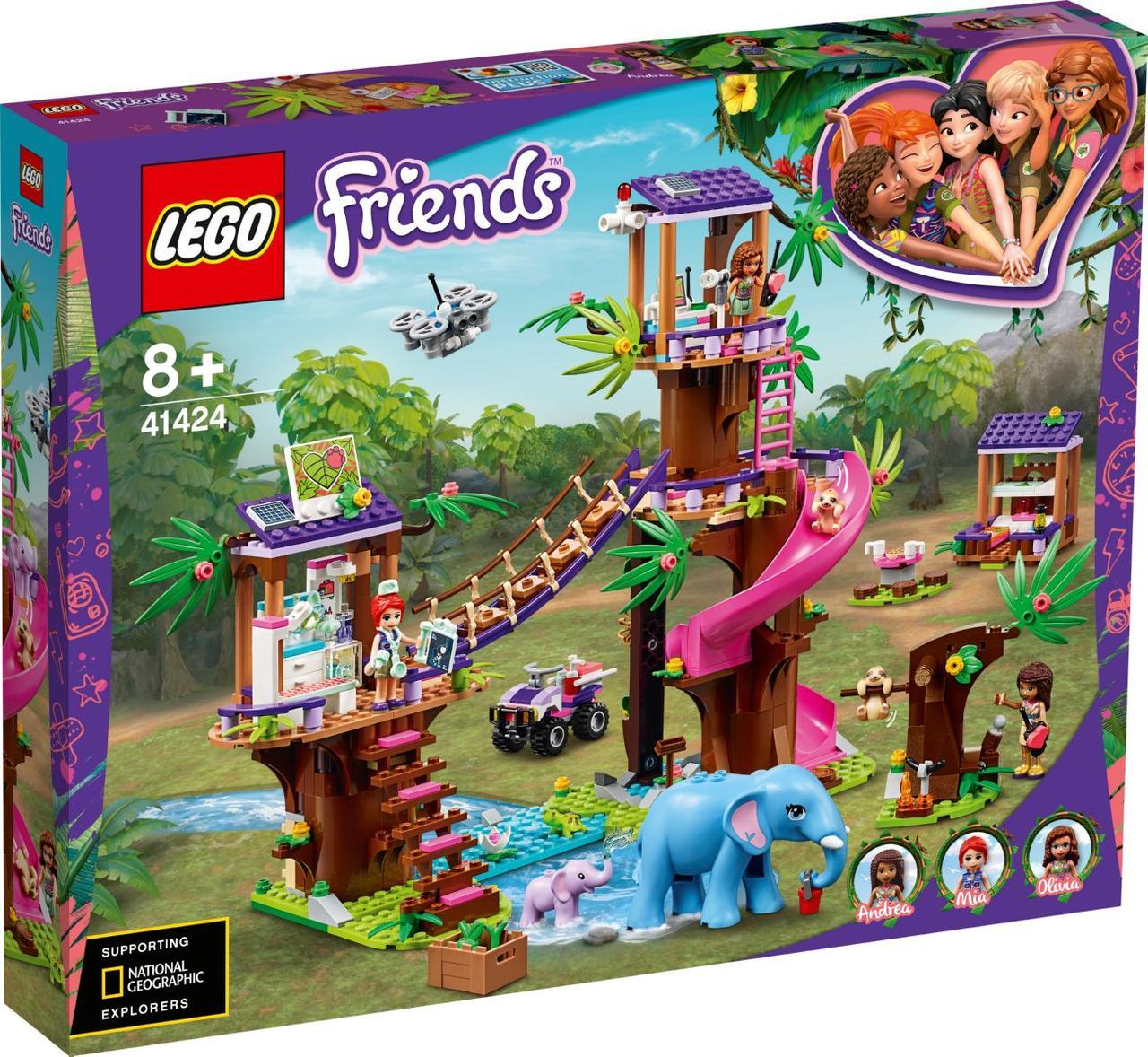 Lego Friends Джунглі: штаб рятувальників Лего френдс 41424
