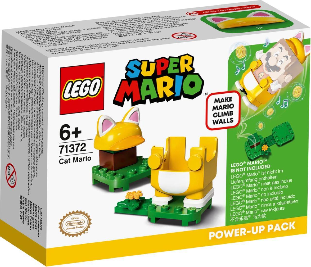 Lego Super Mario Марио-кот. Набор усилений 71372