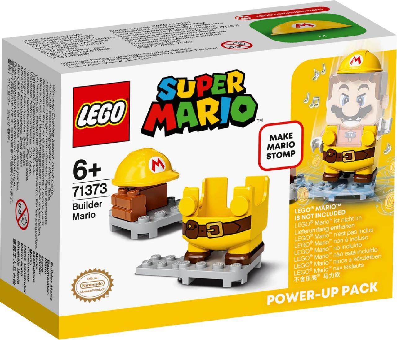 Lego Super Mario Марио-строитель. Набор усилений 71373