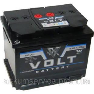 Аккумулятор автомобильный Volt 60AH L+ 480A