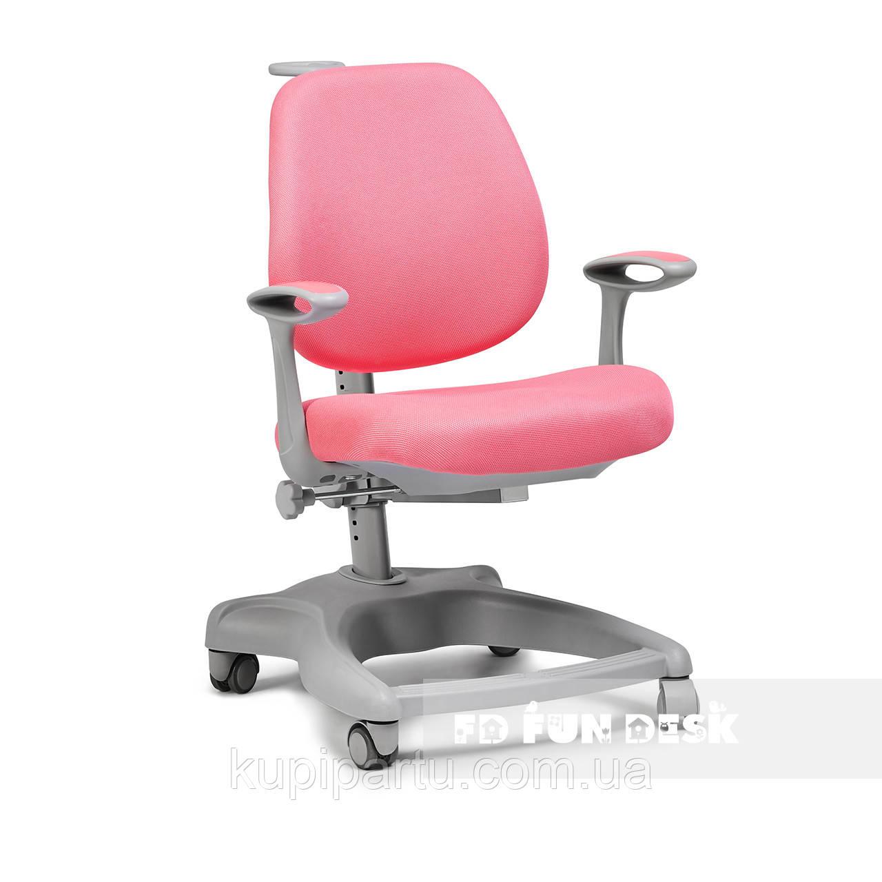 Ортопедичне крісло для дівчинки FunDesk Delizia Pink