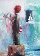 """Листівка """"Ангел на канікулах"""""""