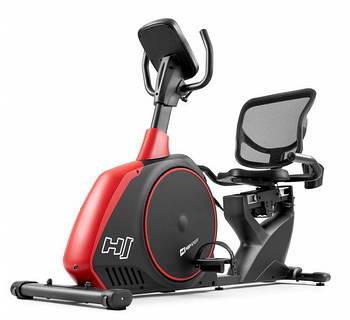 Горизонтальный велотренажер Hop-Sport Scale (HS-095L) Красный