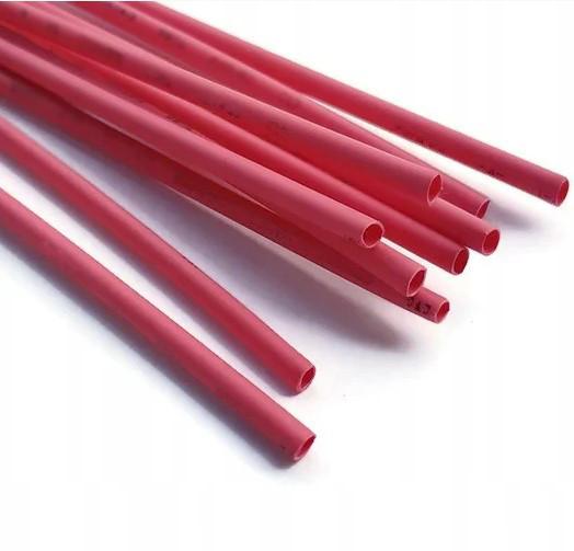 Термоусадочная трубка ТТН2х1 22/11 красная 1 метр TechnoSystems TNSy5501900
