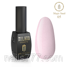 Гель-лак Milano Magic Sand 8 мл, №05