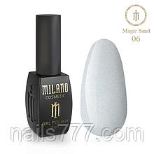 Гель-лак Milano Magic Sand 8 мл, №06