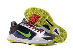Чоловічі баскетбольні кросівки Nike Zoom Kobe 5 хамелеон