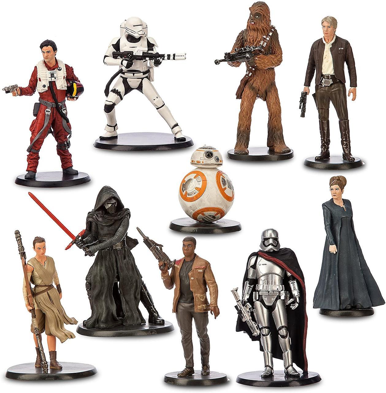 Disney Store Игровой набор с фигурками Звездные войны сила пробуждается star wars the force awakens deluxe