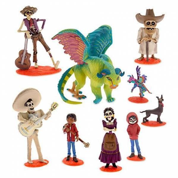 Disney Store Игровой набор с фигурками делюкс Тайна Коко Pixar Coco Deluxe Figurine Set