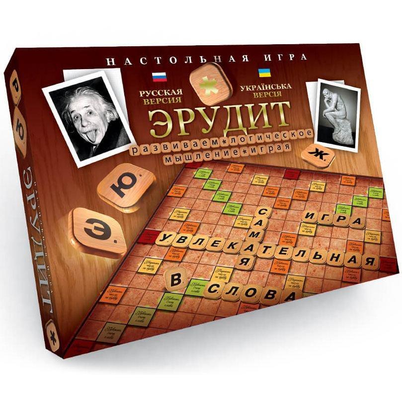 Настольная игра Эрудит Элит Arial 910190