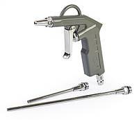 Пневмопистолет для продувки короткий с дополнительными наконечниками100мм и 200мм (шт.)