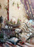 """Листівка """"Зима з ароматом лаванди"""", фото 1"""