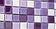 Листовая панель ПВХ на стену Регул, Мозаика (Акцент Сиреневый), фото 2