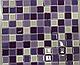 Листовая панель ПВХ на стену Регул, Мозаика (Акцент Сиреневый), фото 6