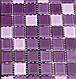 Листовая панель ПВХ на стену Регул, Мозаика (Акцент Сиреневый), фото 7
