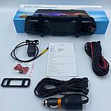 Сенсорное зеркало видеорегистратор LS-200 10 дюймов с камерой заднего вида, фото 5