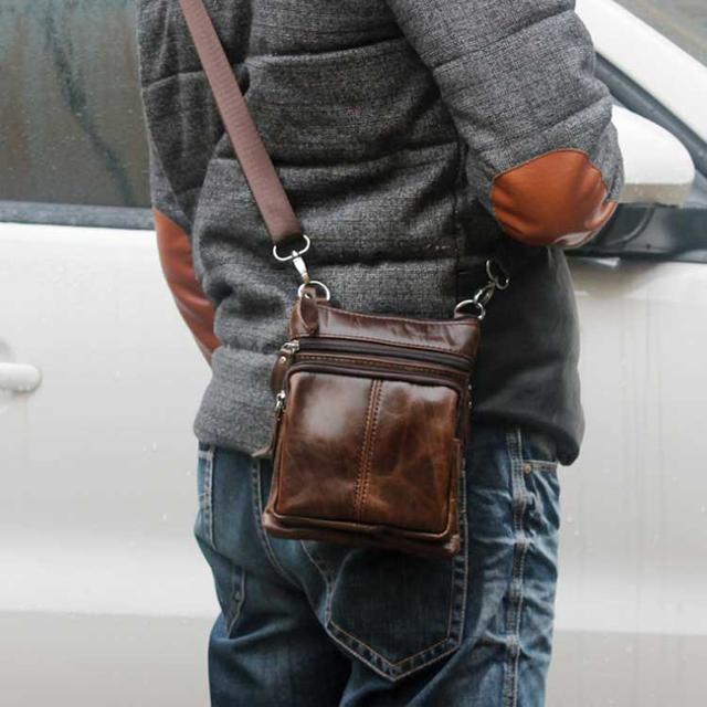 Міні-сумка через плече шкіряна Marrant
