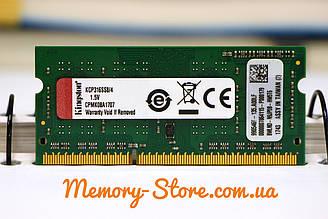 Оперативна пам'ять для ноутбука Kingston DDR3 4GB 1Rx8 PC3-12800S 1.5 V SODIMM (б/у)