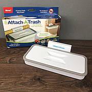 Подвесное кухонное ведро для мусора Attach-A-Trash пластиковый держатель для мусорных пакетов на дверцу