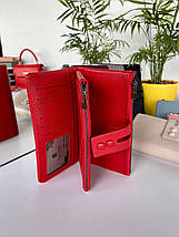 Женский кошелек-органайзер Kochi красный КМК565, фото 2