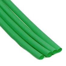 Термоусадочна трубка ТТН2х1 2/1 зелена 1 метр TechnoSystems TNSy5501755