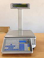 Весы с печатью этикетки DIGI SM-300P б/у с гарантией