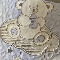 Плед детский двойной покрывало в кроватку. Дитячий плед