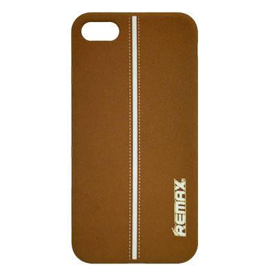 Силиконовый чехол Remax Soft Touch Sport Serial iPhone  7- коричневый