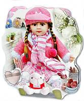 Подарочные пакеты детские Кукла 3 вида 30х26х10 см
