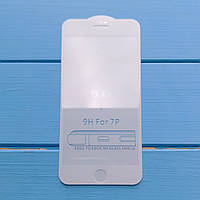 5D загартоване скло Apple iPhone 7 Plus, 8 Plus White