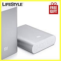 Power Bank 10400 mAh Xiaomi Mi + USB-LED фонарик + Наушники Apple в Подарок