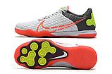 Футзалки Nike React Gato IC white/red, фото 2