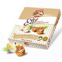 Конфеты в коробке SISSI кокосовые и арахисовые шарики Lumar