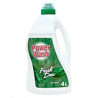 Кондиціонер для білизни Power Wash Fresh Dew 4 л.