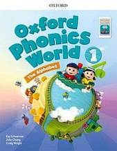 Oxford Phonics World 1 The Alphabet Student's Book / Учебник с кодом
