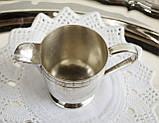 Посеребренный соусник, молочник, сливочник, серебрение, мельхиор, Англия, винтаж, фото 2