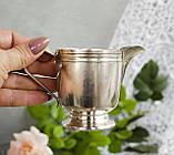 Посеребренный соусник, молочник, сливочник, серебрение, мельхиор, Англия, винтаж, фото 4