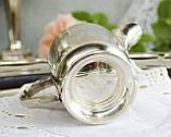 Посеребренный соусник, молочник, сливочник, серебрение, мельхиор, Англия, винтаж, фото 5