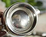 Посеребренный соусник, молочник, сливочник, серебрение, мельхиор, Англия, винтаж, фото 6