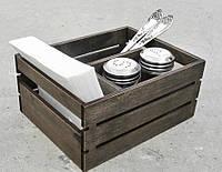 Органайзер для сервировки стола 3 отделения ЯЩИК | Era Creative Wood